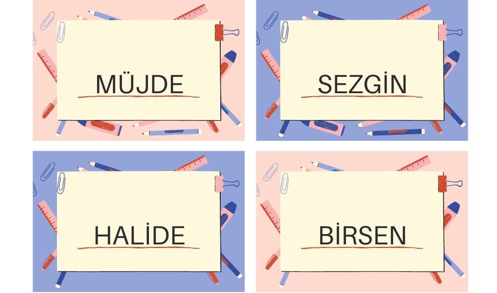Nombres para Niñas en Turcos