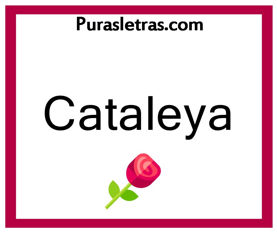 Nombres Para Niña Que Combinen Con Cataleya Puras Letras